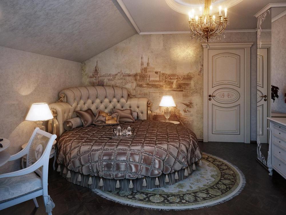 Классическая элегантность в дизайне спален