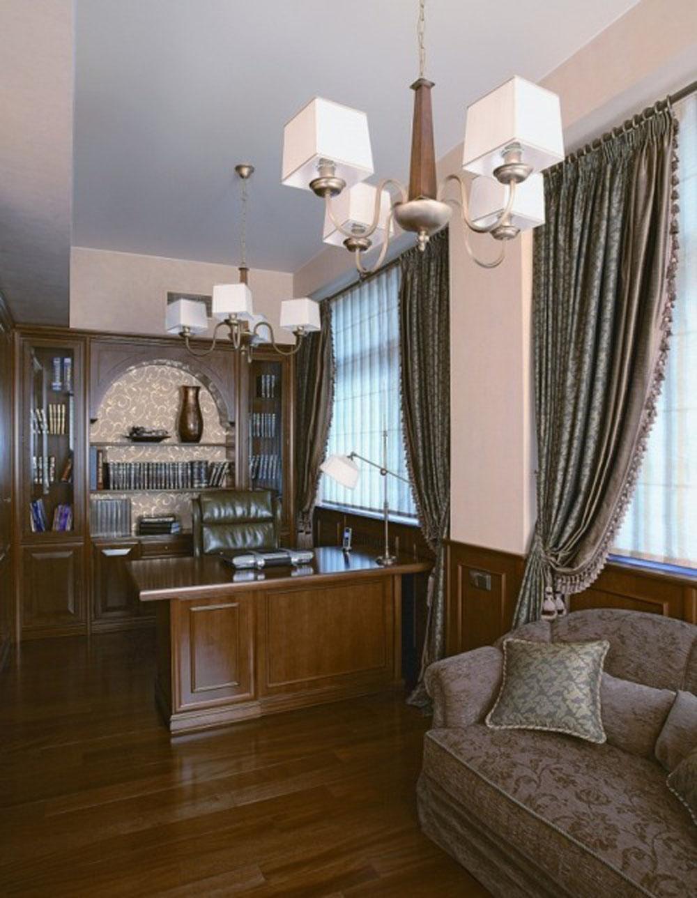 Московский интерьер в неоклассическом стиле