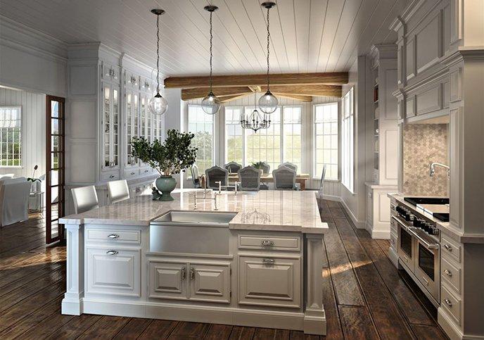 кухни премиум класса на заказ в Москве